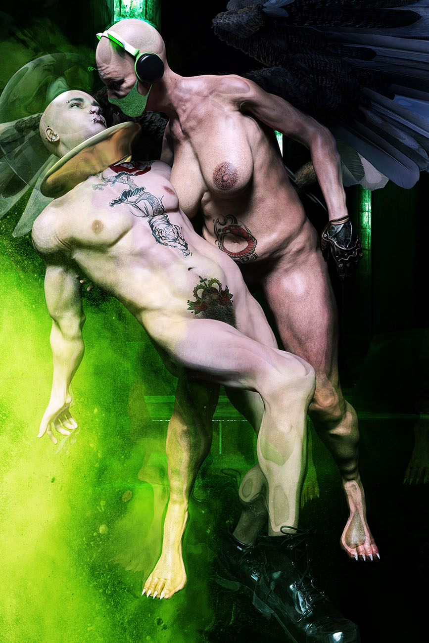 Oedipe et le Sphinx