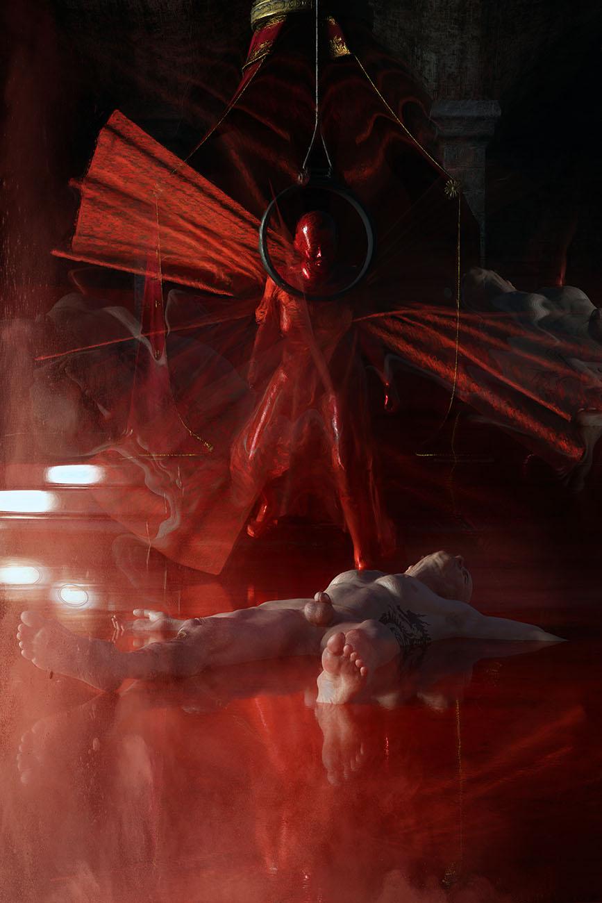 Le masque de la Mort Rouge - The Red Death Mask