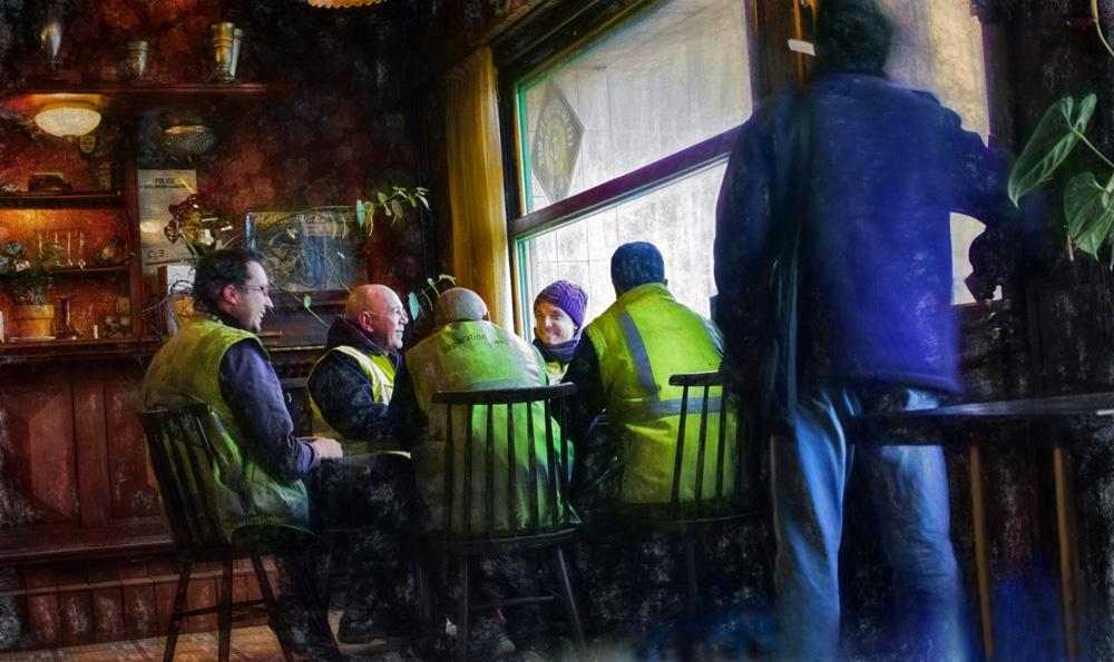 Au café du Port