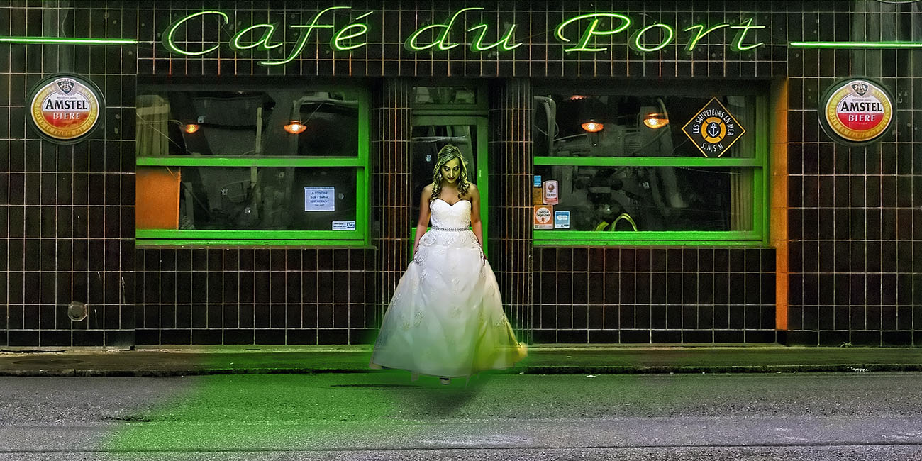 La mariee du Café du Port